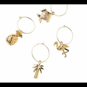 Lilly Pulitzer wine charms